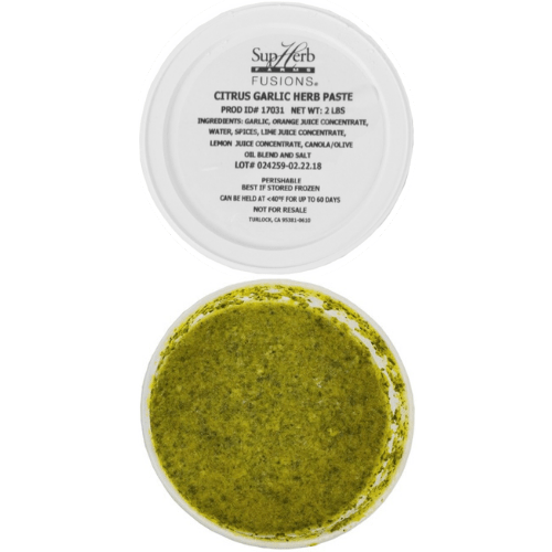 Citrus Garlic Herb (Mojo) Culinary Paste