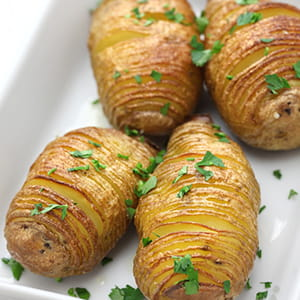 Accordion Potatoes - Recipe