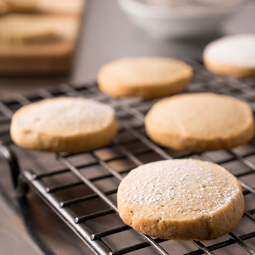 Spiced Brown Sugar Short Bread Cookies - Recipe