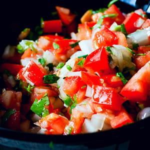 Cajun Fresh Tomato Salsa