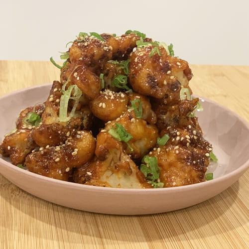 Chou-fleur frit à la coréenne