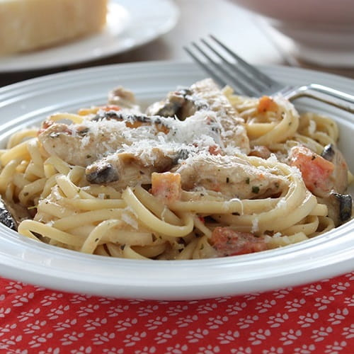 Chicken Tetrazzini Italiano