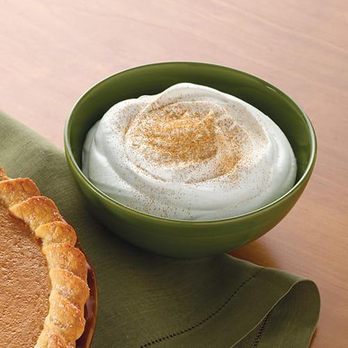 Crème fouettée à la cannelle