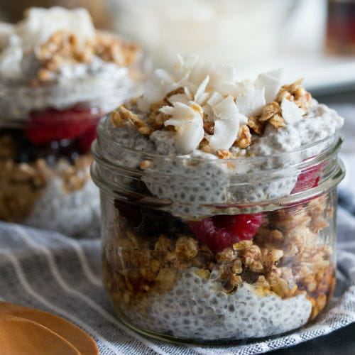Coconut Chia Parfaits