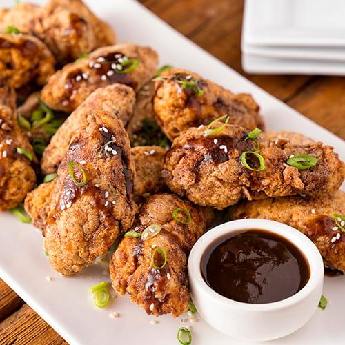 Ailes de poulet croustillantes et épicées au tamarin