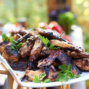Crispy Grilled Chicken Wings