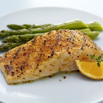 Crusted Salmon with Lemon and Herbs