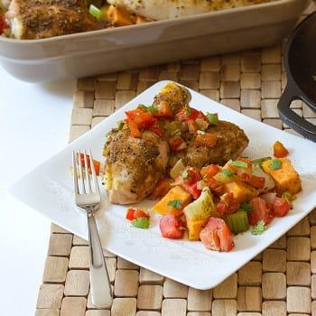 Chicken with Sofrito Gremolata