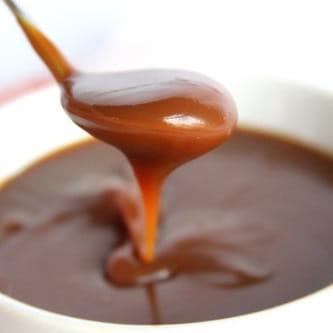 Sauce facile au beurre et au caramel