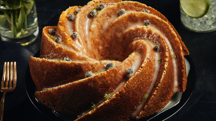 Juniper and Lime Cake