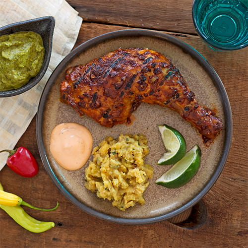 Flavour Forecast Peruvian Chicken With Chile Sauce