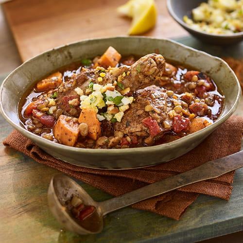 East African Chicken & Lentil Stew