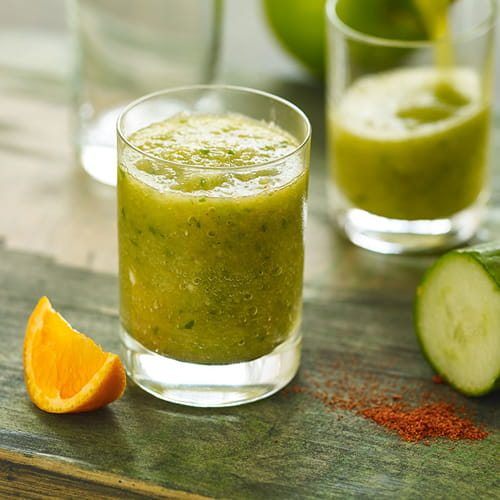 Spiced Cucumber and Apple Morning Shooter - Recipe