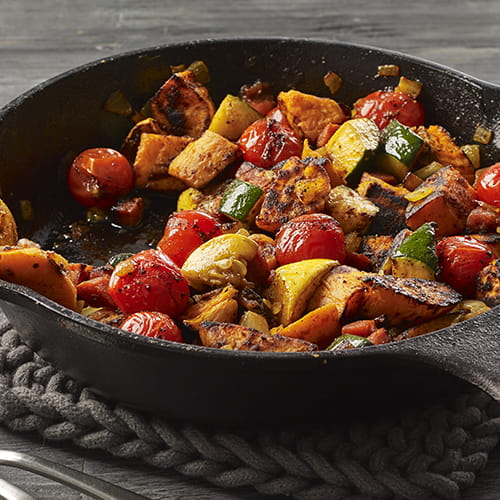 Flavour Forecast Sweet Potato In Skillet