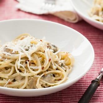 Garlic and Herb Linguini