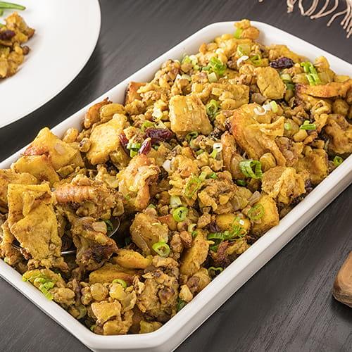 Naan Stuffing For Tandoori Masala Roast Turkey - Recipe