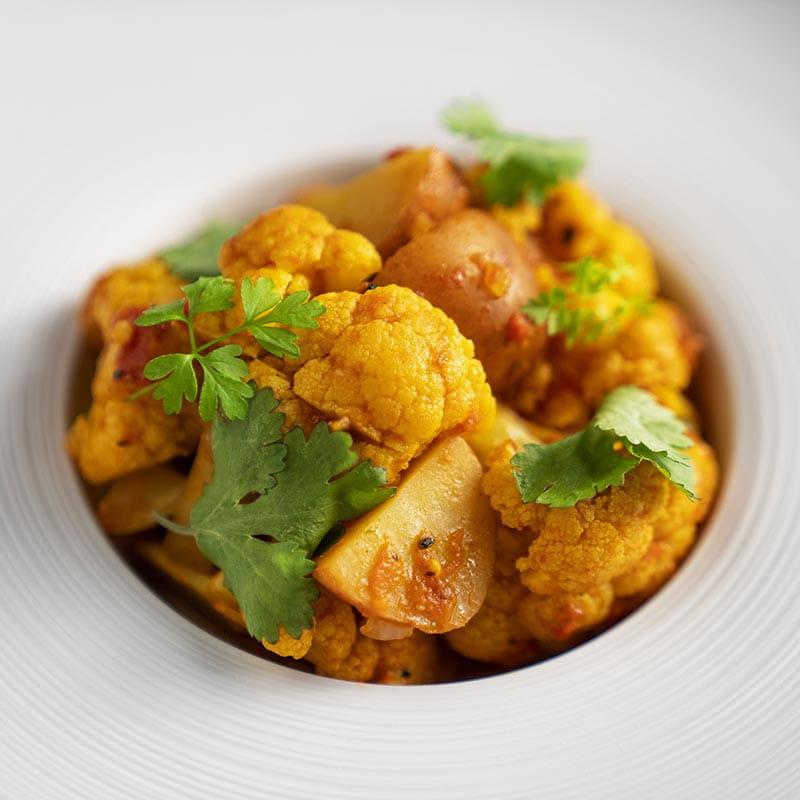 Aloo Gobi Potatoes and Cauliflower - Recipe