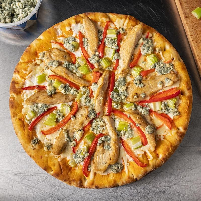 Blue Cheese Buffalo Pizza