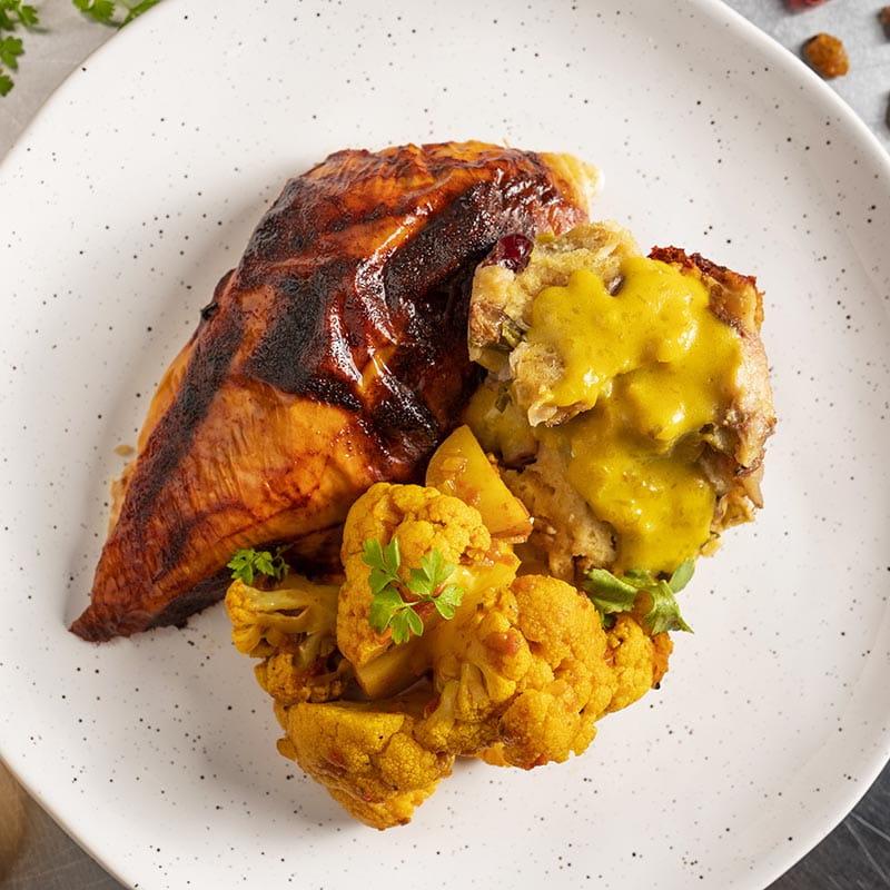 Indian Turkey Dinner