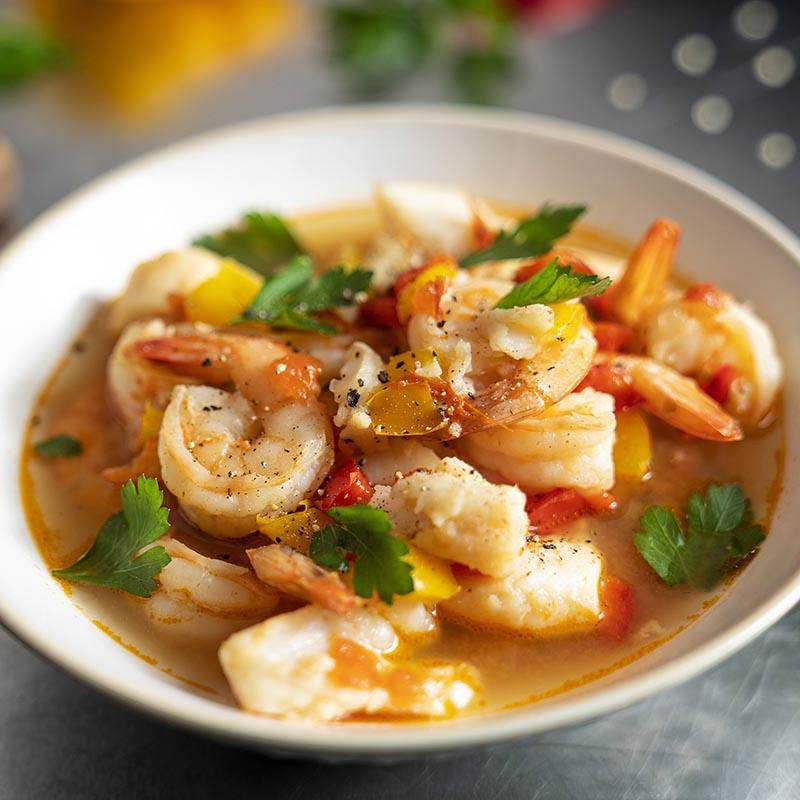 Baja Style Fish Stew - Recipe
