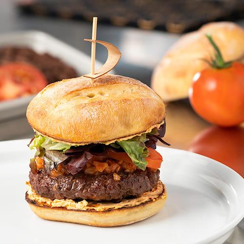 Korean Style BBQ Angus Beef Burger with Kimchi - Recipe