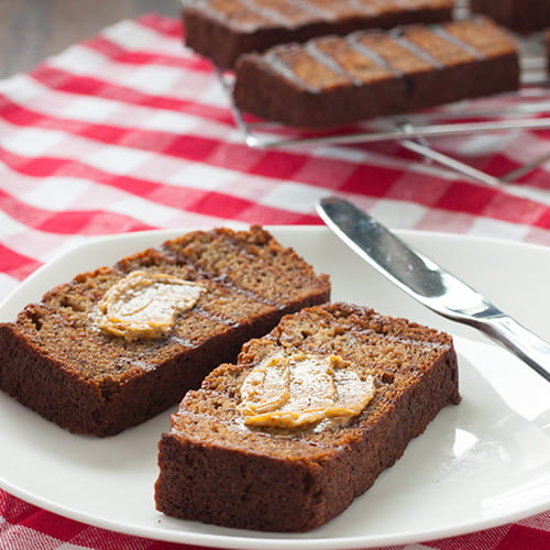 Grilled Banana Bread with Maple Bacon Butter - Recipe