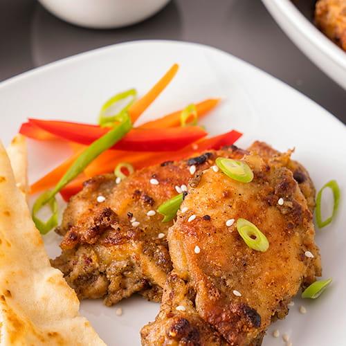 Grilled Garam Masala Chicken Thighs