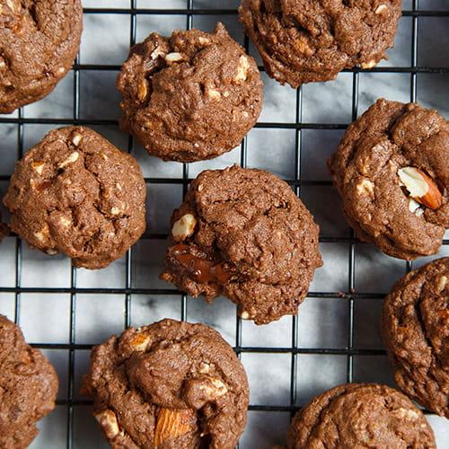 Biscuits à la noix de coco et aux morceaux de chocolat