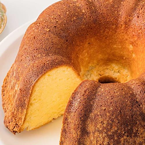 Gâteau de Savoie à la noix de coco