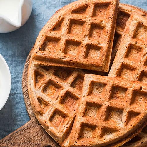 Grain-Free Pina Colada Waffles
