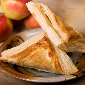 Chaussons aux pommes et miel