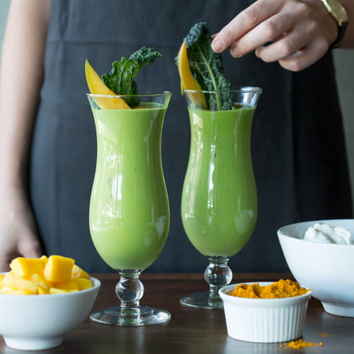 Kale Turmeric Lassi - Recipe