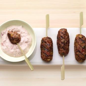 Koftas de viande épicée