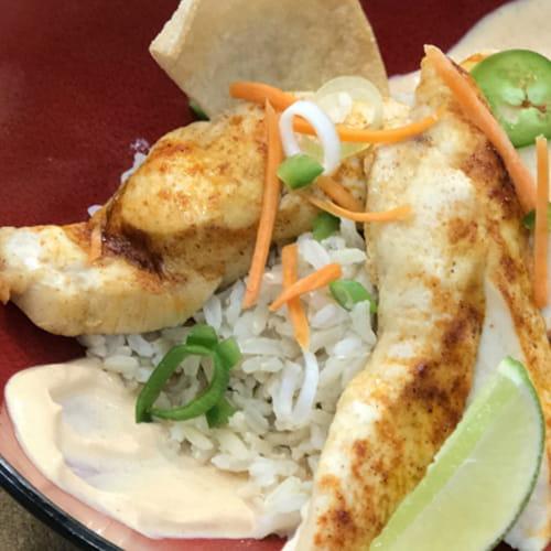 Sriracha Chicken Rice Bowl