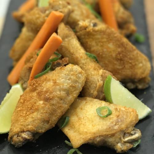 Ailes de poulet sriracha