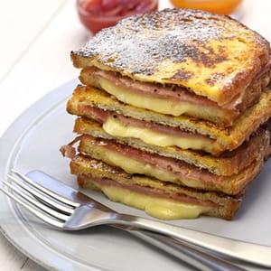 Sandwich Monté Cristo à l'italienne