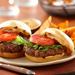 Montreal Steak and Mushroom Slider Burger