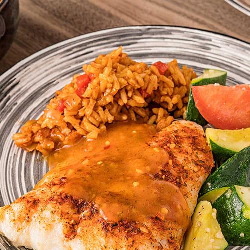 Piri Piri Sauce on Fish