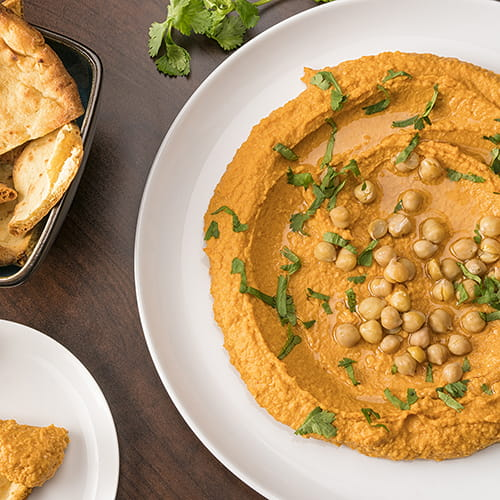 Red Curry Hummus