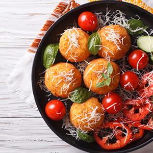 Spicy Pepper Arancini