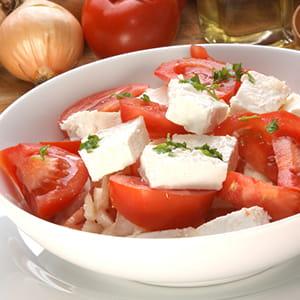 Salade de tomates et féta