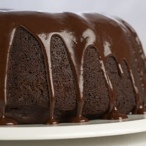 Gateau triple chocolat