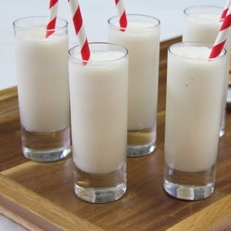 Vanilla Butterscotch Milkshake Shooters