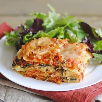 Lasagne aux légumes classique