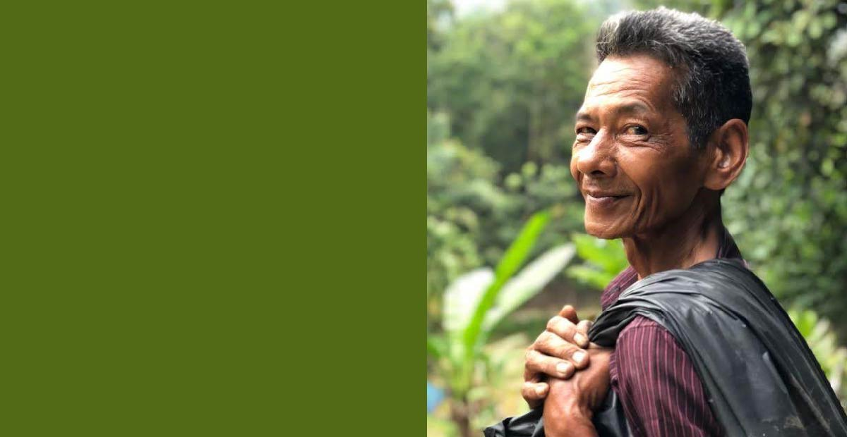 Grown for Good supply chain; photo of farmer