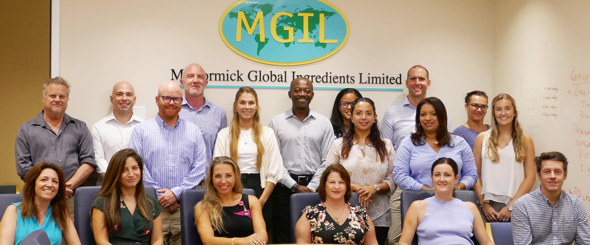 McCormick Global Ingredients Limited MGIL team photo