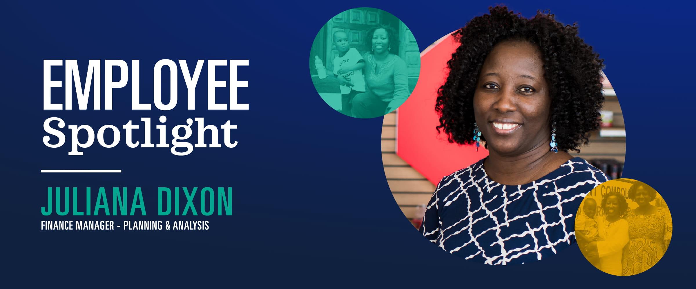 Juliana Koffa Dixon; Liberia; Charitable Giving; Employee Volunteer