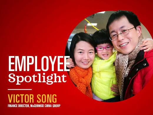 Victor Song McCormick China Group Shanghai; finance director mccormick; mccormick & company