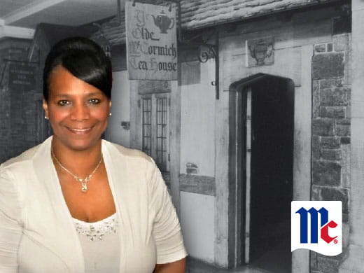 Joann Booker; McCormick & Company; Ye Olde McCormick Tea House; McCormick Light Street Baltimore; Friendship Court