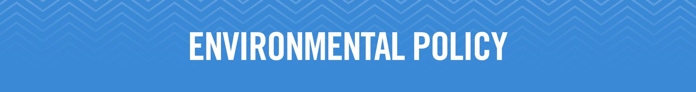 McCormick & Company Environmental Policy